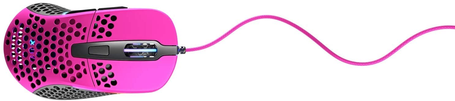 Light Gaming Mouse Pink